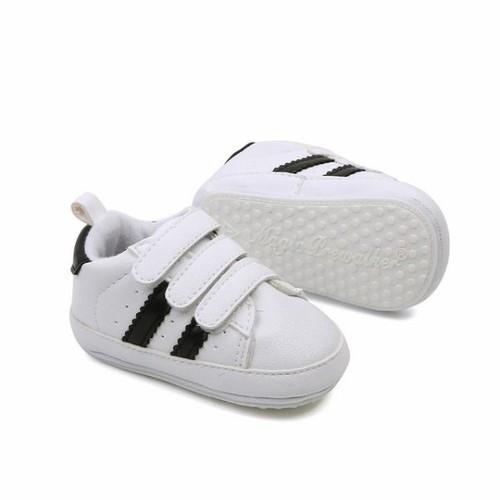 Giày da pu phong cách hàn quốc cho bé trai tập đi