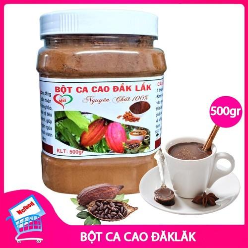 [Siêu sale][free ship] bột cacao nguyên chất daklak 500g