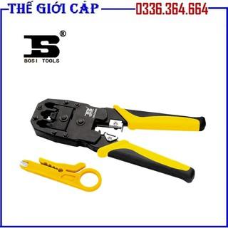 Kìm Nhấn Mạng Bosi Tool BS433468 4P. 6P. 8P - Bosi Tool BS433468 4P. 6P. 8P thumbnail
