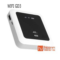 Bộ Phát Wifi 3G 4G GB3 150Mbps - Pin khủng - Hỗ Trợ Sạc Dự Phòng