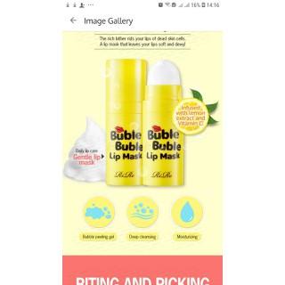 Mặt nạ sủi bọt tẩy tế bào chết môi Rire Bubble Bubble Lip Mask - rire 0001 1