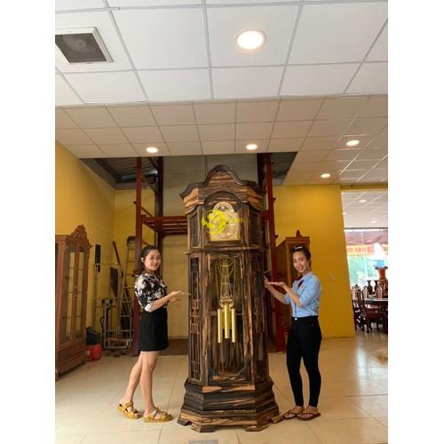Đồng hồ tháp hoàng gia gỗ mun - 19298413 , 24086072 , 15_24086072 , 39000000 , Dong-ho-thap-hoang-gia-go-mun-15_24086072 , sendo.vn , Đồng hồ tháp hoàng gia gỗ mun