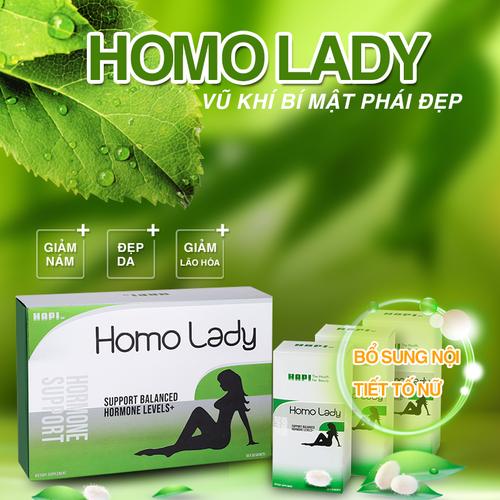 HOMO LADY - NỘI TIẾT TỐ NỮ - tadasa-hapi-hocmonlady