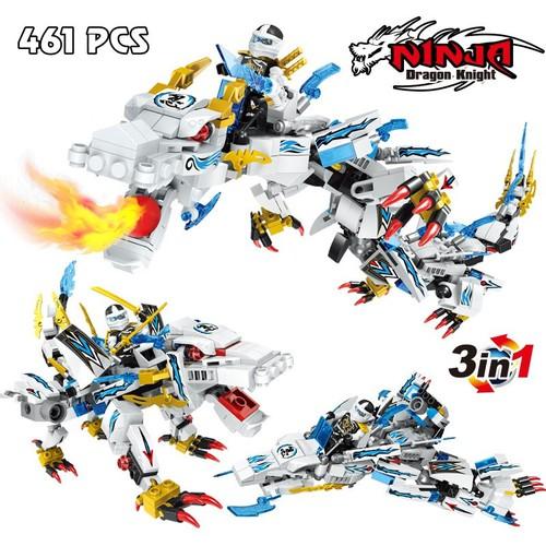 Bộ lắp ráp ninja 3 in 1 – dragon knight 2256