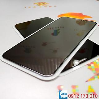 [TẶNG ỐP NHỰA DẺO - ĐEN] Kính cường lực chống nhìn trộm iPhone XS Max - iPhone 11 Pro Max _ Kính cường lực full màn iPhone XS - ip11 - D1461 thumbnail