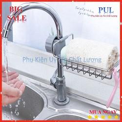 Khay inox gắn vòi nước tiện dụng