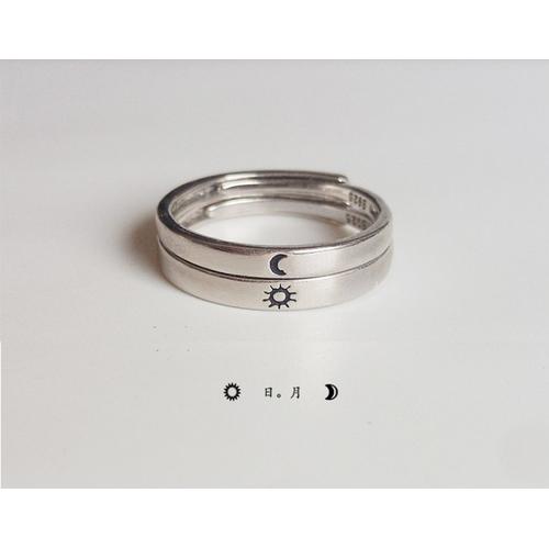 Jk silver - nhẫn nữ bạc ý 925 chỉnh size được - mạ bạch kim 4 lớp cao cấp trẻ trung - mẫu mới 2019- j67 - j67