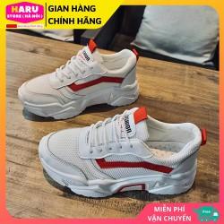 Giày thể thao nam – giày sneaker nam giá rẻ hót 2020 GTTN-54 [MÀU TRẮNG – MÀU XANH].