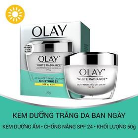 Kem dưỡng trắng da ban ngày Olay White Radiance Light Perfecting Day Cream 50g - 4902430733823