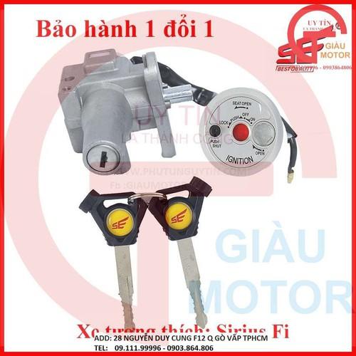Ổ khóa chống trộm xe máy sirius fi dòng 2 cạnh thương hiệu se - 21011600 , 24123087 , 15_24123087 , 380000 , O-khoa-chong-trom-xe-may-sirius-fi-dong-2-canh-thuong-hieu-se-15_24123087 , sendo.vn , Ổ khóa chống trộm xe máy sirius fi dòng 2 cạnh thương hiệu se