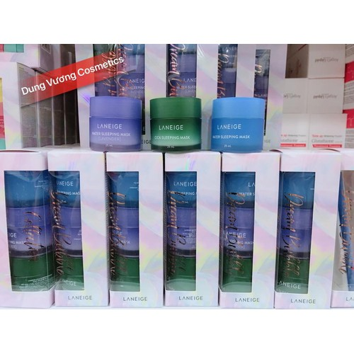 Set mặt nạ ngủ laneige sleeping mask dream bubble collection