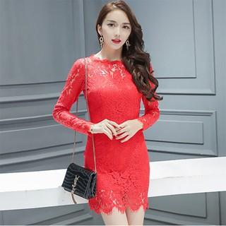 Đầm Ren Tay Dài Ôm Body Quyến Rũ - Đầm Ren 1 thumbnail