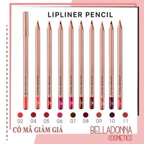 [Đủ Bảng Màu, Mẫu Mới 2019] Chì Kẻ Viền Môi Vacosi Lipliner Pencil - vcs-chi
