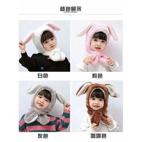 Sét mũ kèm khăn cho bé