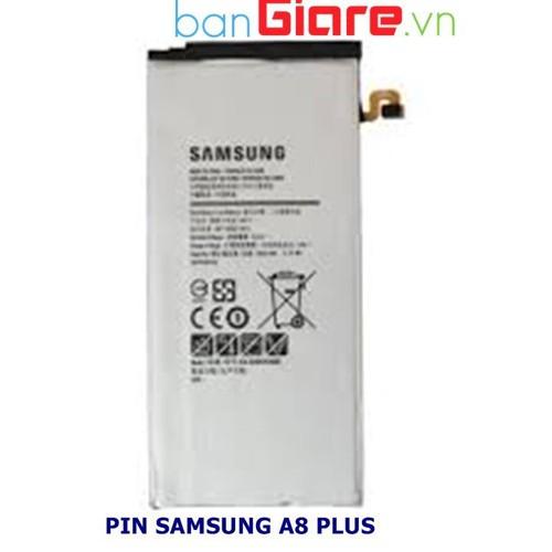 Pin samsung a8 plus, 3500mah cho samsung galaxy a730 mới, loại 1