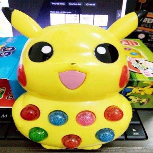 Đồ chơi thông minh cho bé pikachu phát nhạc kể chuyện pokemon - đồ chơi thông minh cho bé pikachu vàng