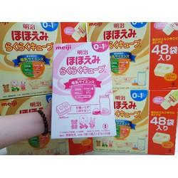 Sữa Meiji số 0-1 dạng thanh mẫu mới
