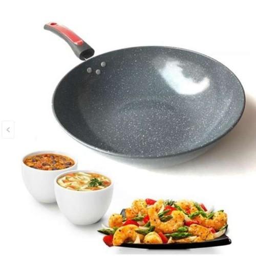 Chảo vân đá sâu lòng size 32cm chống dính - dùng được cho mọi loại bếp - 21003605 , 24111945 , 15_24111945 , 139000 , Chao-van-da-sau-long-size-32cm-chong-dinh-dung-duoc-cho-moi-loai-bep-15_24111945 , sendo.vn , Chảo vân đá sâu lòng size 32cm chống dính - dùng được cho mọi loại bếp
