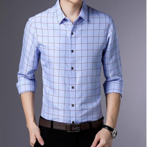 [Siêu sale] áo sơ mi nam thời trang caro- thời trang công sở cao cấp