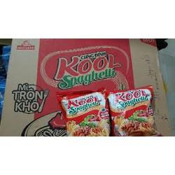 HÀNG CHÍNH HÃNG - 1 thùng mì Trộn Kool Spaghetti - 30 gói