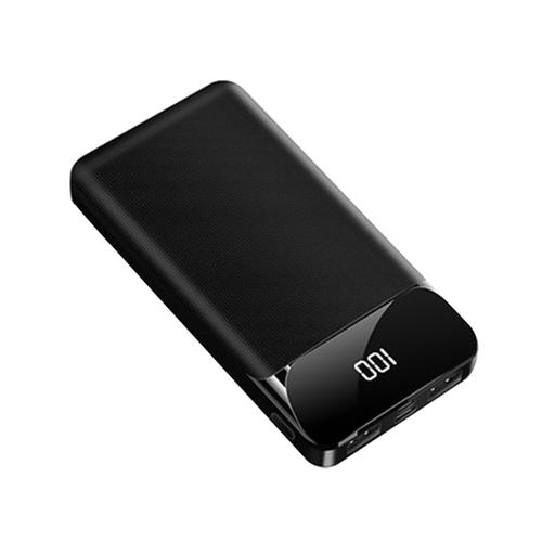 Pin sạc dự phòng sm20 polymer 20000mah dung lượng lớn sạc pin nhanh 2a đường vân tăng cảm giác tay khi cầm thích hợp dùng cho các dòng iphone