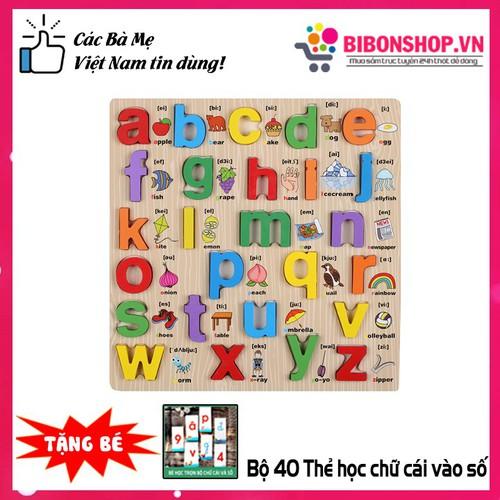 Đồ chơi gỗ bảng học chữ cái in thường bằng gỗ có phiên âm tiếng anh cho bé - 20472748 , 23299474 , 15_23299474 , 109000 , Do-choi-go-bang-hoc-chu-cai-in-thuong-bang-go-co-phien-am-tieng-anh-cho-be-15_23299474 , sendo.vn , Đồ chơi gỗ bảng học chữ cái in thường bằng gỗ có phiên âm tiếng anh cho bé