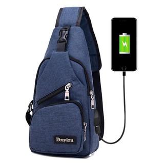 Túi đeo chéo nam - túi đeo chéo nam - túi đeo chéo nam - Kèm cáp USB1 thumbnail