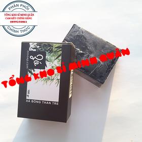 Xà Bông Than Tre Hoạt Tính Thải Độc Da, Diệt khuẩn Thiên Nhiên 100g - Xà bông thảo dược - 073
