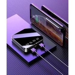 PIN SẠC DỰ PHÒNG, MẶT KÍNH SIÊU ĐẸP, 2 CỔNG USB