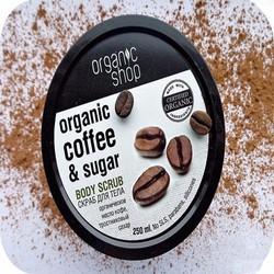 Muối Tắm Trắng Cafe Organic