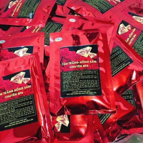 Combo 5 gói tắm trắng hồng sâm chuyên dùng spa - 23333