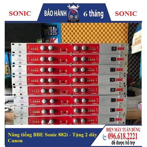Nâng tiếng bbe sonic 882i âm thanh chuyên nghiệp tặng 2 dây canon