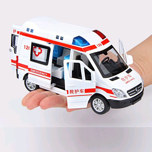 Xe mô hình ô tô cứu thương bằng sắt có nhạc và âm thanh đồ chơi trẻ em xe mở các cửa - 20477650 , 23307808 , 15_23307808 , 179000 , Xe-mo-hinh-o-to-cuu-thuong-bang-sat-co-nhac-va-am-thanh-do-choi-tre-em-xe-mo-cac-cua-15_23307808 , sendo.vn , Xe mô hình ô tô cứu thương bằng sắt có nhạc và âm thanh đồ chơi trẻ em xe mở các cửa