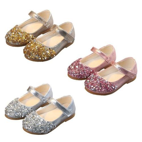 Giày búp bê đính đá kiểu dáng công chúa cho bé gái - 20473048 , 23299815 , 15_23299815 , 130496 , Giay-bup-be-dinh-da-kieu-dang-cong-chua-cho-be-gai-15_23299815 , sendo.vn , Giày búp bê đính đá kiểu dáng công chúa cho bé gái