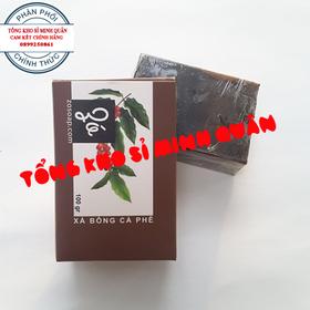 Xà Bông Cà phê Thảo Dược Thiên Nhiên Hỗ trợ điều Trị Lỗ Chân lông To Và Mụn Lưng - Xà bông thảo dược - 072
