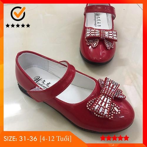 Giày búp bê giày công chúa cho bé gái từ 6 tuổi mầu đỏ tươi với nơ đính đá siêu yêu style korea kid đang thịnh hành - 20471791 , 23297541 , 15_23297541 , 121000 , Giay-bup-be-giay-cong-chua-cho-be-gai-tu-6-tuoi-mau-do-tuoi-voi-no-dinh-da-sieu-yeu-style-korea-kid-dang-thinh-hanh-15_23297541 , sendo.vn , Giày búp bê giày công chúa cho bé gái từ 6 tuổi mầu đỏ tươi với