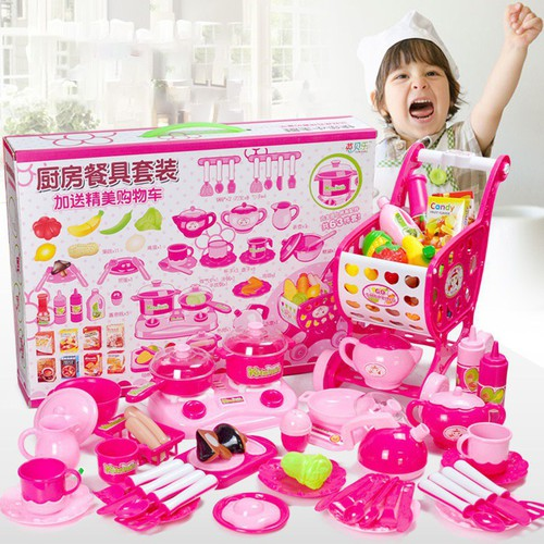 Bộ đồ chơi nhà bếp 63 món