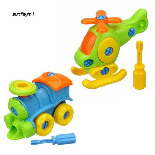 Bộ đồ chơi lắp ráp máy bay giúp phát triển trí thông minh cho bé