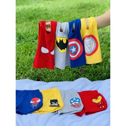Bộ siêu anh hùng bé trai Quần áo trẻ em