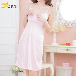 Váy ngủ QKT 2 dây kèm quần lọt khe nhiều màu vn05