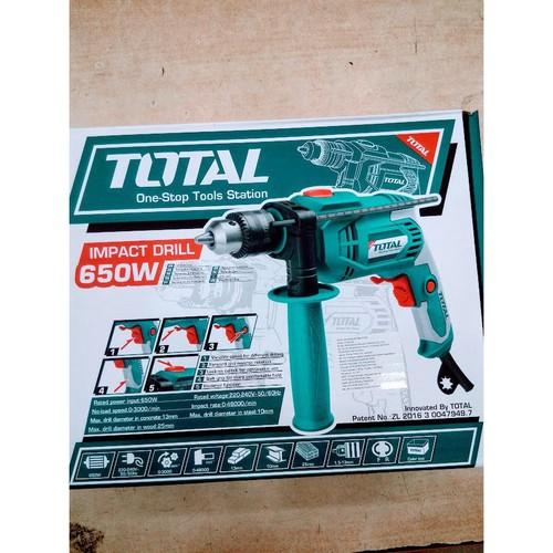 13mm máy khoan động lực cầm tay 650w total tg106136e - 21043527 , 24165136 , 15_24165136 , 495000 , 13mm-may-khoan-dong-luc-cam-tay-650w-total-tg106136e-15_24165136 , sendo.vn , 13mm máy khoan động lực cầm tay 650w total tg106136e