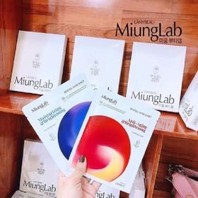 Combo 5 Hộp Mặt nạ da sinh học Miung Lab Hàn Quốc mẫu mới_Hộp 7 gói - 5hopmiunglab