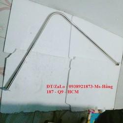 VÒNG THAY ĐỒ chữ L Inox 1m x 1m