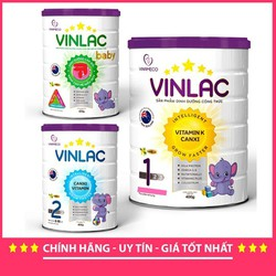 Sữa Bột Vinlac cho bé đủ số - suavinlac