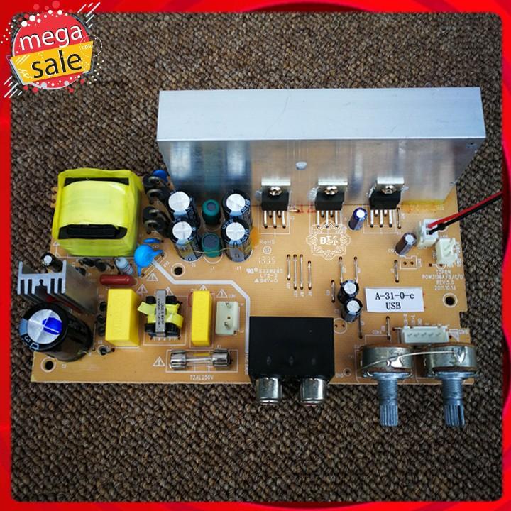 Mạch khuếch đại âm thanh TDA2030 2.1 IC chính hãng tích hợp nguồn 220V