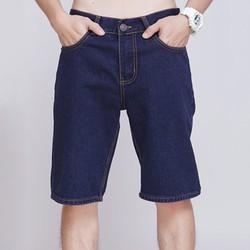 Quần shorts jeans ống suôn TMS01