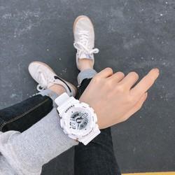 Đồng hồ đeo tay thời trang SHHORS nam nữ cực đẹp DH68