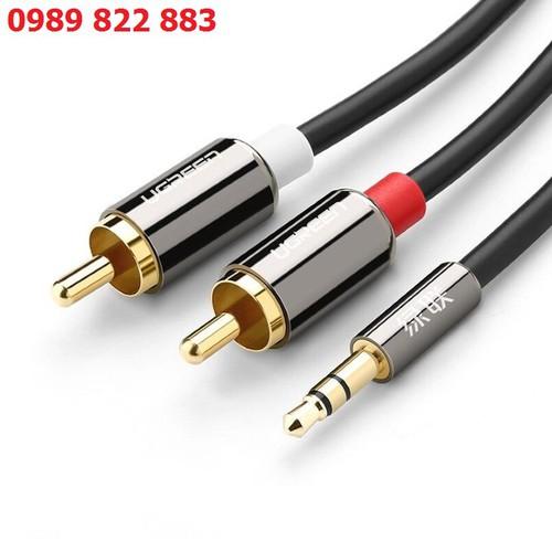 Cáp âm thanh 3.5mm ra 2 đầu rca 1.5m ugreen ug-10583 - dây âm thanhnghe nhạc từ điện thoại, máy tính bảng, máy nghe nhạc mp3... ra loa hay loa máy tính, dàn âm thanh - 21035704 , 24155134 , 15_24155134 , 105000 , Cap-am-thanh-3.5mm-ra-2-dau-rca-1.5m-ugreen-ug-10583-day-am-thanhnghe-nhac-tu-dien-thoai-may-tinh-bang-may-nghe-nhac-mp3...-ra-loa-hay-loa-may-tinh-dan-am-thanh-15_24155134 , sendo.vn , Cáp âm thanh 3.5mm