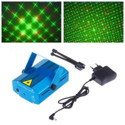 Đèn sân khấu mini laser