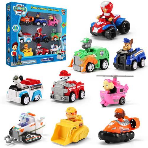 Bộ đồ chơi xe cứu hộ cho bé